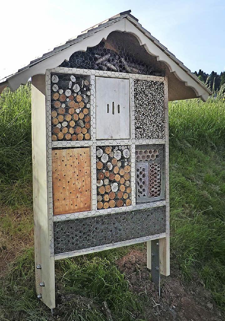 nun mit hotel f r insekten murg badische zeitung. Black Bedroom Furniture Sets. Home Design Ideas