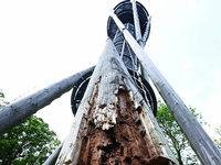 Einsturzgefahr: Maroder Schlossbergturm ab sofort gesperrt