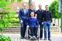 Unterst�tzerkreis sammelt f�r Kirchzartener Mountainbiker im Rollstuhl