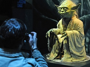 """""""Star Wars""""-Ausstellung in K�ln �ffnet ihre T�ren"""