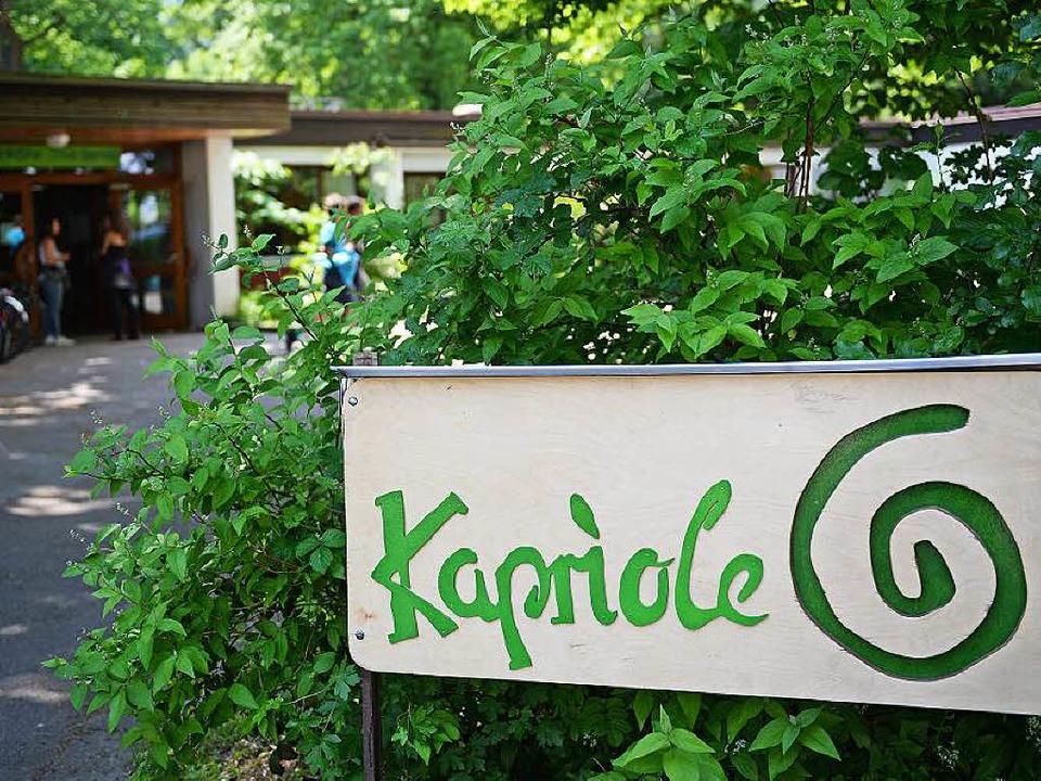 Schön im Grünen, auf einer Insel der G...Kapriole setzt auf zwangloses Lernen.   | Foto: Patrik Seeger/Bernd Eberhart