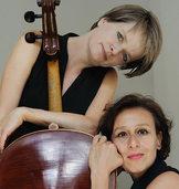 Das Duo Scollo con Cello im Freiburger Jazzhaus