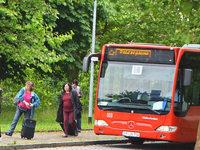 Baustelle mit Folgen: Bahnfahrer steigen auf den Bus um
