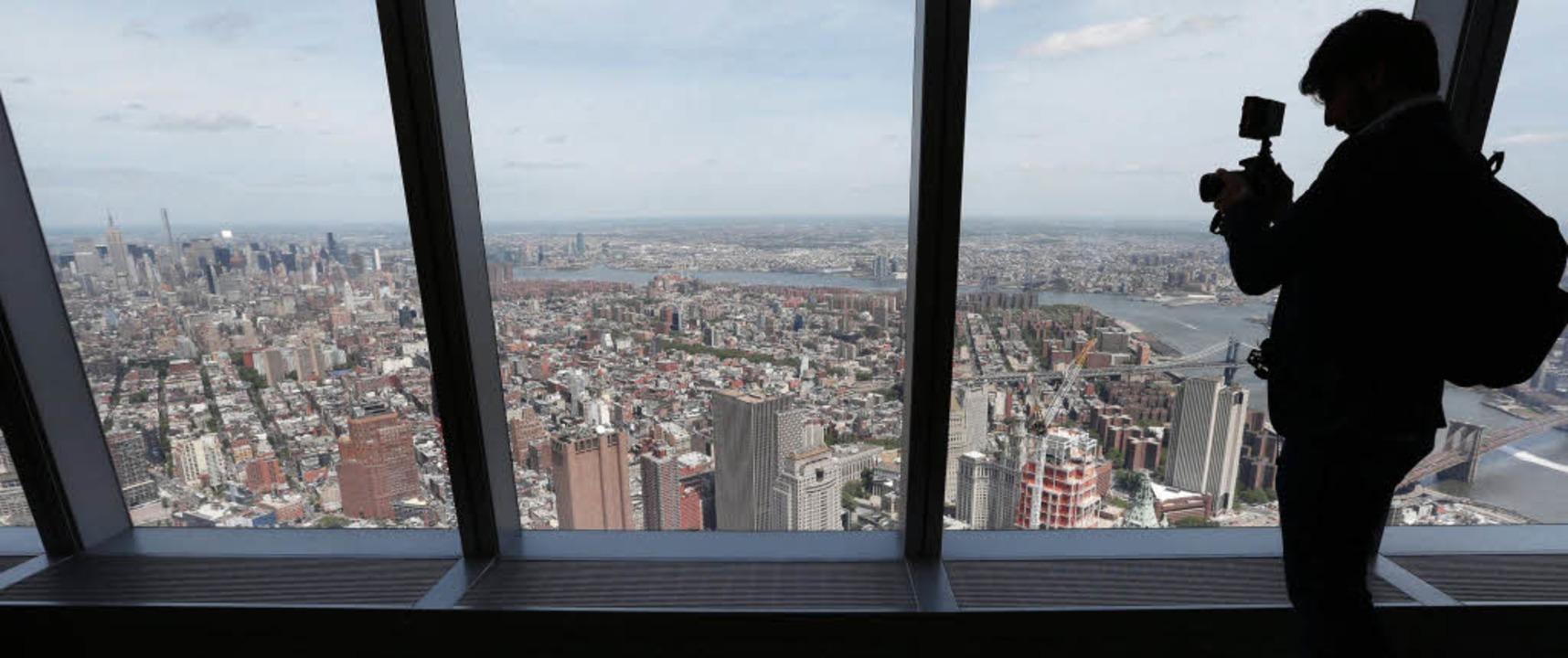 aussichtsplattform auf neuem world trade center panorama badische zeitung. Black Bedroom Furniture Sets. Home Design Ideas
