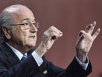 Blatter bleibt Fifa-Pr�sident - kein zweiter Wahlgang