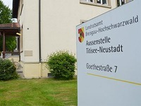 Diebe legen Zulassungsstelle in Neustadt lahm