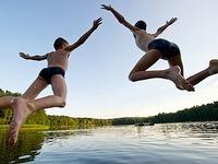 Spitze gegen Hitze: 22 Naturb�der in S�dbaden