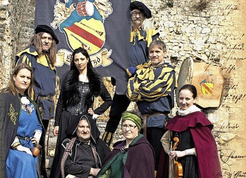 Skadefryd nennen sich die Mittelalter-... eine eigene CD herausgebracht haben.   | Foto: Zvg