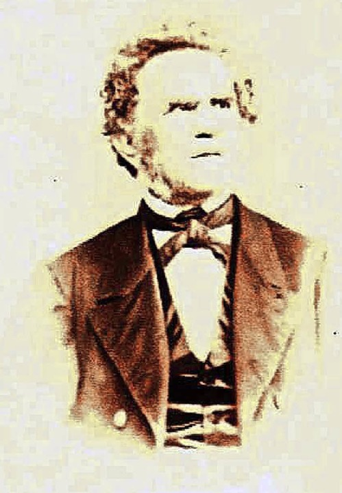 Johann Nepomuk Hiltmann (1804 bis 1878...FotoNurRepro>Schulze</BZ-FotoNurRepro>  | Foto: Uli Schulze