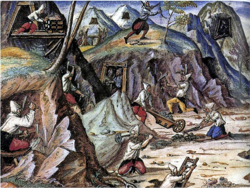 So könnte es  im 16. Jahrhundert in de...rken rund um Todtnau ausgesehen haben.  | Foto: privat
