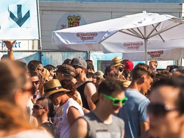 Partylaune auf dem Kamehameha-Festival in Offenburg