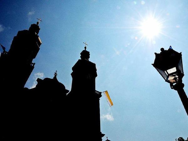 Unter großer Anteilnahme der Gläubigen fand in St. Peter die Fronleichnamsprozession in St. Peter statt.