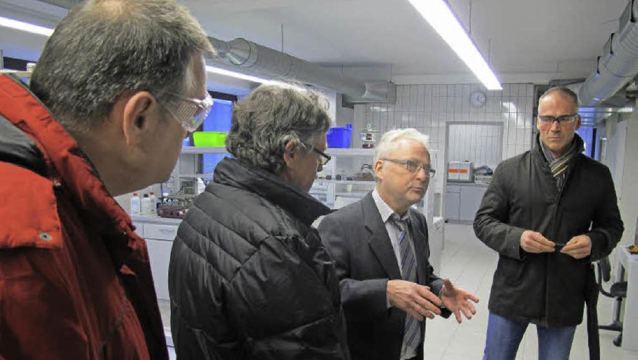 Im Februar 2013 haben Vertreter des Ge...echnische Leiter, Jörg Wellenbüscher.   | Foto: zvg