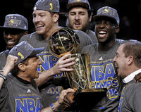 Golden State Warriors holen den Titel in der NBA