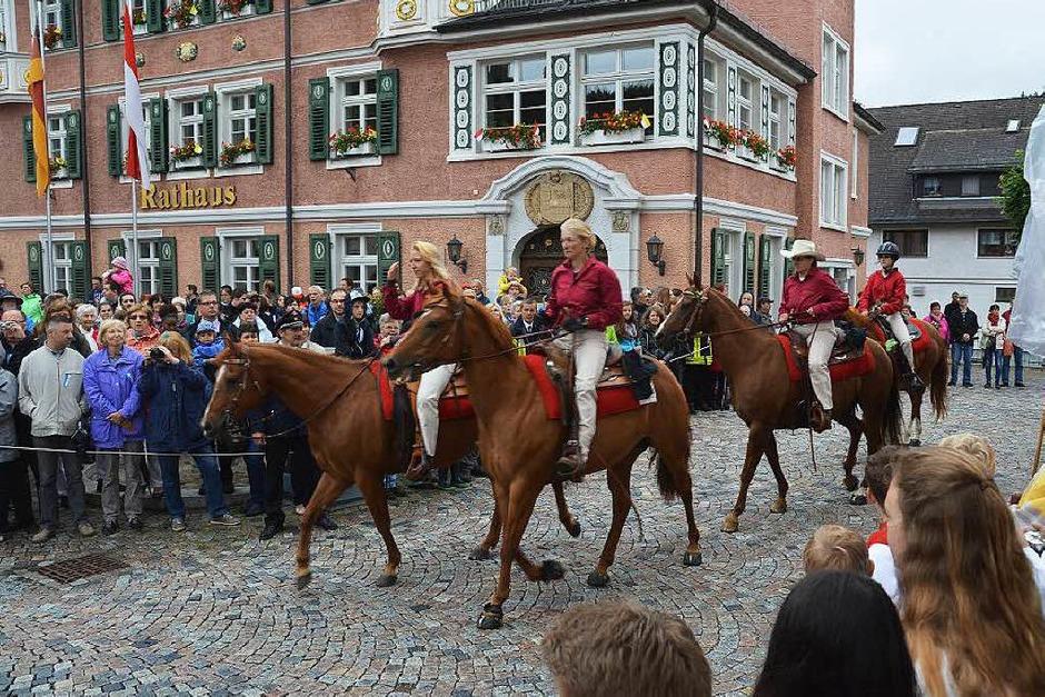 Reiterinnen vom Kreuzhof Lenzkirch (Foto: Ralf Morys)