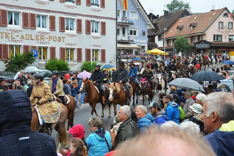 Eulogi-Ritt 2015 in Lenzkirch (Foto: Ralf Morys)