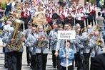 Umzug in Schweighausen zu 125 Jahre Musikverein