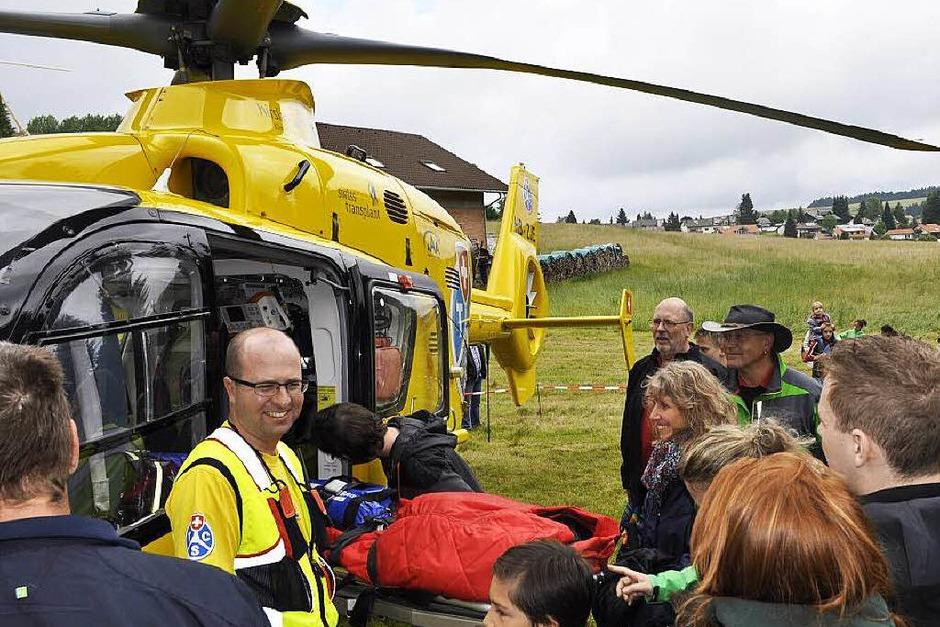 Impressionen von den Rettungstagen in Herrischried