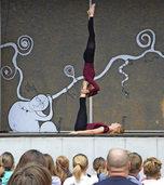 """Herrliche Akrobatik in """"Herrlich dämlich"""""""