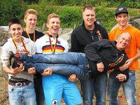 Dominik Oswald erneut Deutscher Juniorenmeister