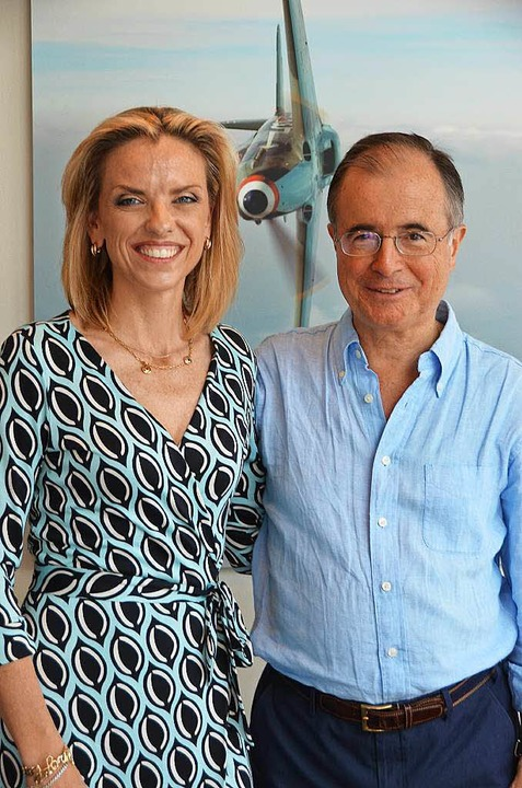 Ideen- und Geldgeber: Paula und Maxi Gainza  | Foto: Martin Pfefferle