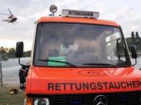 Rettung aus dem Rhein: Frau vor dem Ertrinken bewahrt