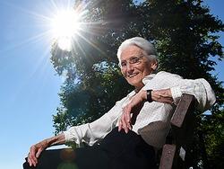 Hoch Annelie geht auf eine 90-J�hrige aus Konstanz zur�ck