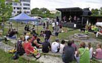 """Beim Festival """"Juks on stage"""" zeigte sich, was auf der Jugendwiese alles m�glich ist"""