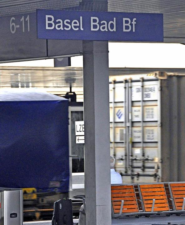 Güter- und Personenverkehr im Badischen Bahnhof sollte besser getrennt werden.   | Foto: Gramespacher