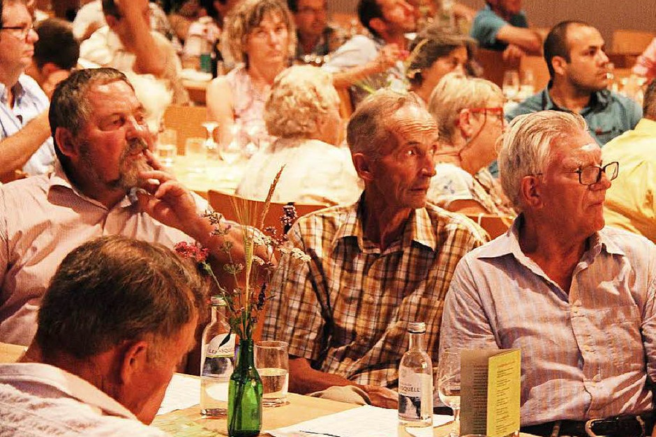 Festakt und Podiumsdiskussion: 60 Jahre Öko-Landwirtschaft in Eichstetten. (Foto: Horst David)