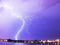 Deutscher Wetterdienst warnt vor Gewitter, Orkanb�en, Hagel