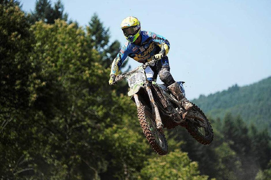 Heiße Maschinen, heißes Tempo, heißes Wetter: 42. Motocross in Schweighausen (Foto: Bettina Schaller, Bettina Schaller Presse)