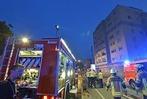 Fotos: Brand in einem Hochhaus in Freiburg-Z�hringen