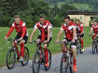 Fotos: SC Freiburg bereitet sich in Schruns auf die Saison vor