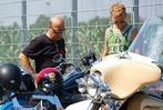 Ein kleines, feines Harley-Treffen
