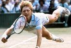 Fotos: Boris Becker gewinnt 1985 als erster Deutscher Wimbledon