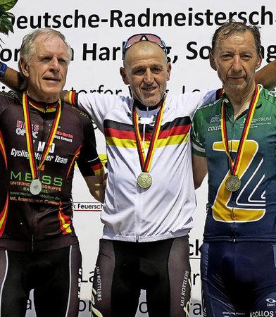 Radsport 25 Kilometer Soloflucht Badische