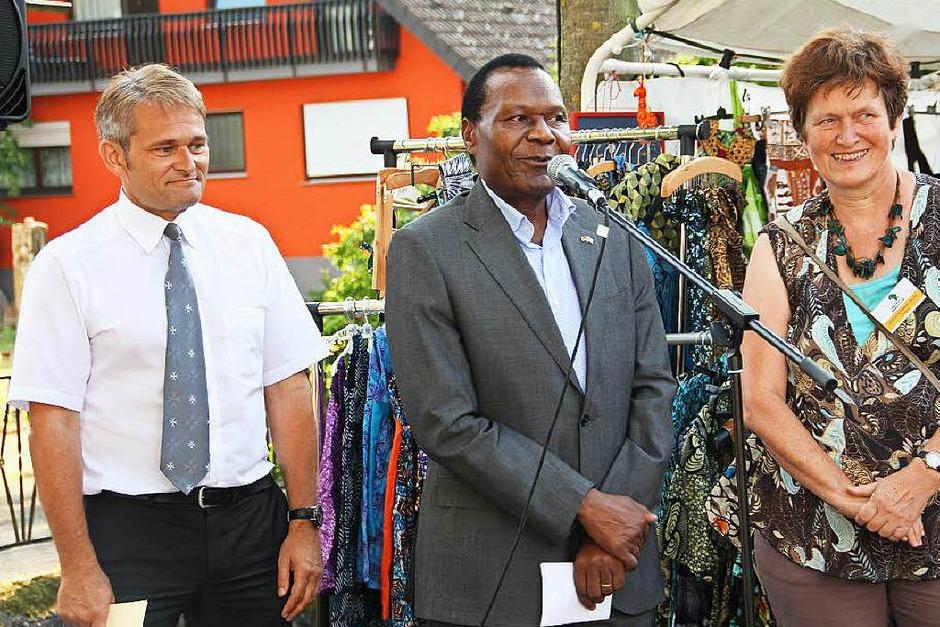 In Gallenweiler wurde an diesem Wochenende deutsch-afrikanische Freundschaft zelebriert. (Foto: Sabine Model)