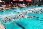 Triathlon Schopfheim: Hitzige Duelle zu Wasser und zu Land