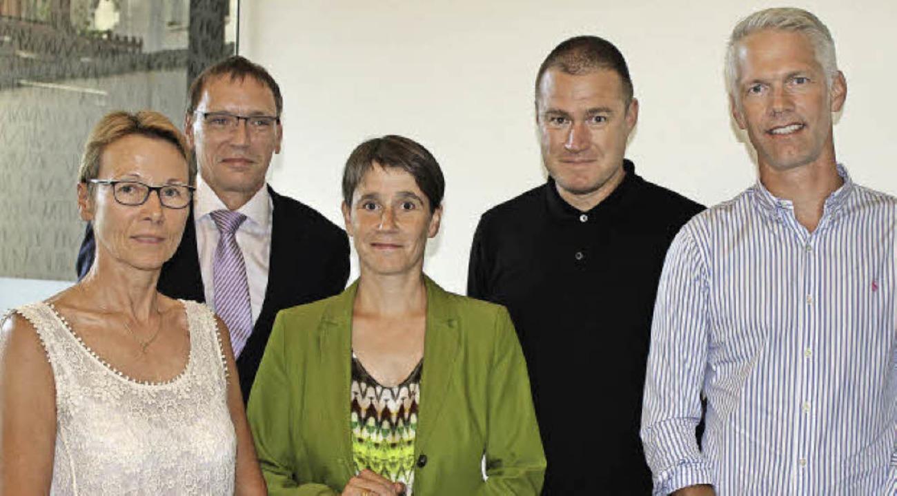 Die Leitung der Bürgerstiftung: Roswit...he, Frank Hovenbitzer, Karsten Kleine   | Foto: Willi Adam