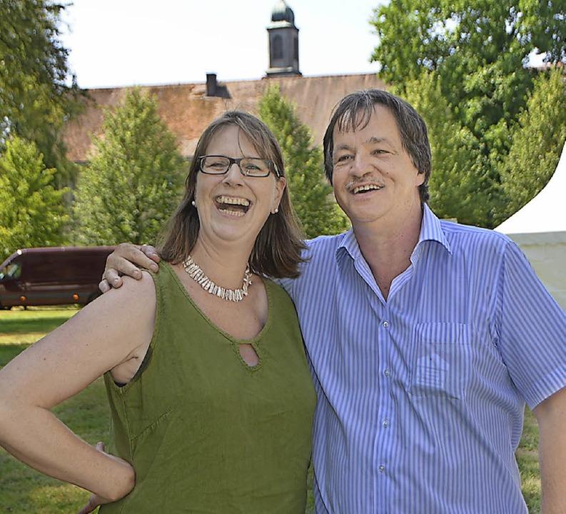 Petra Rieckmann und Dieter Maier    Foto: Peter Gerigk