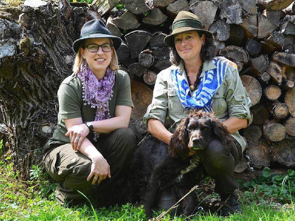 Waidfrausheil : Immer mehr Frauen entdecken das Jagen für sich - Lahr - Badische Zeitung