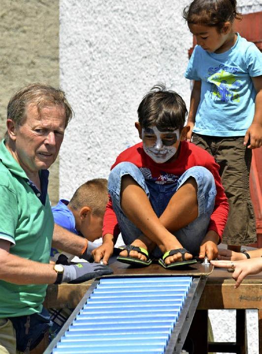Ein vielfältiges Aktionsprogramm  für die Kinder<ppp></ppp>  | Foto: Danielle Hirschberger