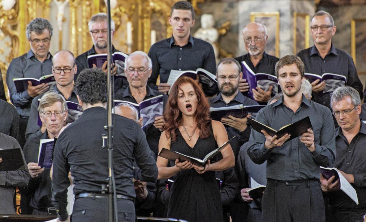 Klangerlebnis in der Wallfahrtskirche:...hor singt die Petite messe solenelle.   | Foto: Olaf MIchel