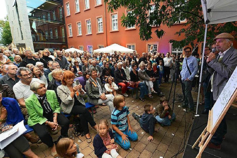 Jam-Sessions, Breakdance-Shows, Konzerte: So schön war die Lange Nacht der Museen in Freiburg. (Foto: Rita Eggstein)