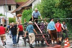 Fotos: Feuerwehr Enkenstein feiert spritziges Fest