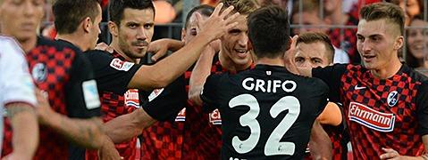 SC Freiburg spielt gegen N�rnberg 6:3 - Tabellenspitze