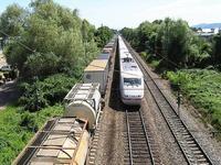 Nach St�rung auf Rheintalbahn: Z�ge fahren wieder