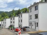 Stadtbau-Reihenh�user: Architekt plante in Nachbarschaft g�nstiger