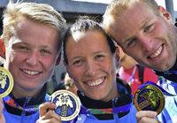 Erste Goldmedaille in Kasan